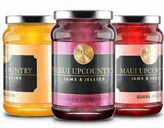 """Check out new work on my @Behance portfolio: """"Label Design Monarch Jams & Jellies"""" http://on.be.net/1QXwV0D"""