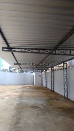 Front Gate Design, House Gate Design, Door Gate Design, Carport Patio, Carport Canopy, Steel Frame Construction, Construction Design, Metal Building Homes, Building Design