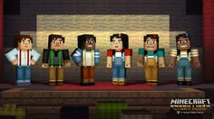 Good News Gaming: Minecraft Story Mode Has Selectable Characters