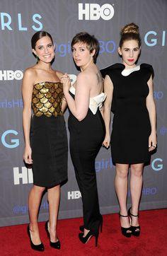 Lena Dunham Girls | www.partyista.com