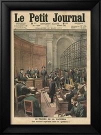 Trial of the Camorra, Illustration from 'Le Petit Journal', Supplement Illustre, 26th March 1911 Giclee Print by French School - at AllPoste...46x61cm $70
