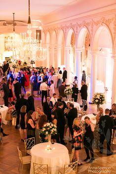 Atlanta wedding ceremony & reception venue: Piedmont Driving Club ballroom in Midtown.