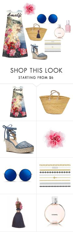 """Island Escape"" by ipekzsuel on Polyvore featuring Dolce&Gabbana, MICHAEL Michael Kors, Matthew Williamson, Chanel and Essie"