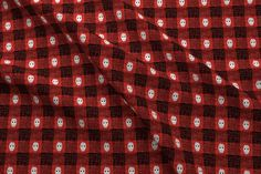 Shop, design and sell custom fabric, wallpaper and home decor on Spoonflower. Buffalo Check, Custom Fabric, Spoonflower, Craft Projects, Quilts, Red, Couture, Design, Quilt Sets