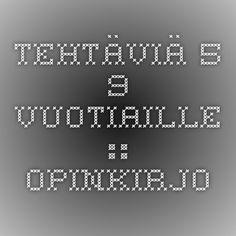 Tehtäviä 5-9 -vuotiaille :: Opinkirjo Periodic Table, Weather, Periodic Table Chart, Periotic Table, Weather Crafts