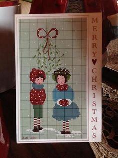 Carte postale merry christmas 2