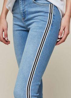 6b34982ca1482 14 Best side seams detail jeans images | Jeans women, Pants, Trouser ...