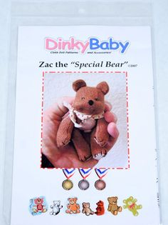 DinkyBaby Pattern 039 Zac the Special Bear 4 by DinkyBabyDolls