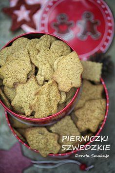 Oryginalne pierniczki szwedzkie jak z Ikei Polish Food, Polish Recipes, Muffins, Cookies, Desserts, Christmas, Crack Crackers, Tailgate Desserts, Xmas