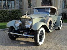 1927 Rolls-Royce Piccadilly Roadster Maintenance of old vehicles: the material for new cogs/casters/gears could be cast polyamide which I (Cast polyamide) can produce Retro Cars, Vintage Cars, Antique Cars, Classic Rolls Royce, Rolls Royce Cars, Car Makes, Toy Trucks, Amazing Cars, Car Car