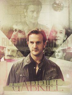 Fan Art of #Gabriel  #Supernatural #SPN My favorite angel besides Cas.