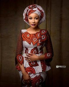 The way the Hausas spice up their Ankara outfits in a sophisticated way cannot be overlooked! They always make Ankara worth wearing for any occasion and event. The fun part… African Fashion Ankara, African Fashion Designers, Latest African Fashion Dresses, African Print Fashion, Nigerian Fashion, Africa Fashion, African Prints, African Attire, African Wear