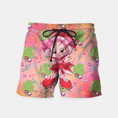 Ojamajo Doremi Pop Swim Shorts