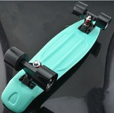 "Holiday 22"" Penny Pastels Skateboard Mint Candy http://www.longboardstore.at/"