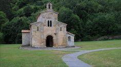 San Salvador de Valdediós - San Salvador de Valdediós Roman Catholic pre-romanesque church (893) -  Villaviciosa - Asturias - Spain
