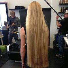 Another one got four inches cut off Grow Long Hair, Very Long Hair, Hip Length Hair, Thick Hair Bob Haircut, Silky Smooth Hair, Soft Hair, Beautiful Blonde Hair, Pretty Hair, Rapunzel Hair
