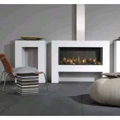 De #Faber Relaxed L Smart is een moderne inbouwhaard. #Gaskachel #Gashaard #Kampen #interieur #Fireplace #Fireplaces