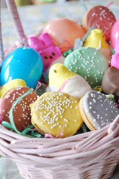 Chocolate dipped Easter treats