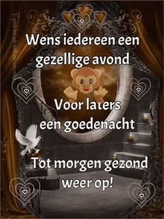 The perfect Gezellige Avond GoodNight Animated GIF for your conversation. Discover and Share the best GIFs on Tenor. Good Night Quotes, Happy New Year, Good Morning, Slaap Lekker, Blessings, Facebook, Google, Movies, Movie Posters