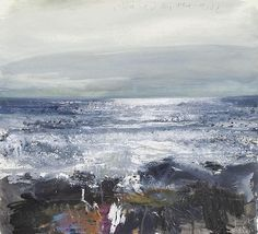 Kurt Jackson - Chased by the tide The Redfern Gallery