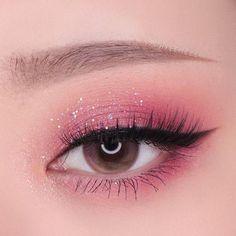 eyeshadow makeup kit makeup slime revolution eyeshadow pa… - Make Up Korean Eye Makeup, Eye Makeup Art, Pink Makeup, Dress Makeup, Girls Makeup, Makeup Kit, Makeup Inspo, Eyeshadow Makeup, Beauty Makeup