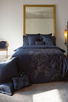 Phoenix Duvet Collection - Blue by Belle Epoque on @HauteLook