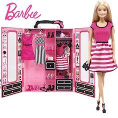 Barbie Doll Toys Fashion Skirt Closet