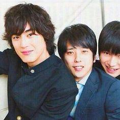 Shotaro Mamiya x Kazunari Ninomiya, Kanata Hongo in Yowakutemo Katemasu (We can win even if we're weak.)