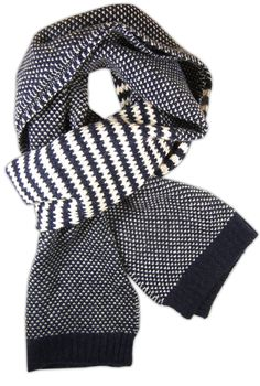TheTieBar.com - Uptown Knit in Navy (Men's Scarf) #want