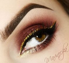 Golden Liner – Idea Gallery - Makeup Geek