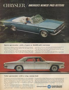 Chrysler 300 & Chrysler Newport