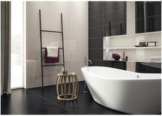 #HelvexbyDesigners- Negro Brillante 30x60 Rtt - Línea Blanca 30x60 - 30x30 Mosaico Blanco - Pure 60x60 Negro de @CeramicaPanaria
