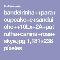Cupcake, Paw Patrol, 1, Cupcakes, Cupcake Cakes, Cup Cakes, Muffin