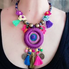 Crochet Necklace, Instagram, Jewelry, Necklaces, Accessories, Jewlery, Jewerly, Schmuck, Jewels