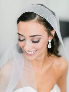 Amazing Wedding Makeup Tips – Makeup Design Ideas Simple Wedding Makeup, Wedding Eye Makeup, Wedding Makeup Tutorial, Wedding Makeup For Brown Eyes, Natural Wedding Makeup, Bride Makeup, Wedding Beauty, Bridal Beauty, Natural Makeup
