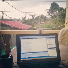 My ideal kind of office #noTraffic #buhayProbinsya