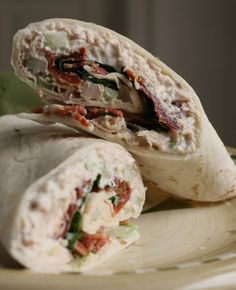 Sun Dried Tomato Chicken Salad BLT Wrap | Tasty Kitchen: A Happy Recipe Community!