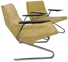 2 Beaufort Cantilever Lounge Chairs by van Rijk for Beaufort | Modernism