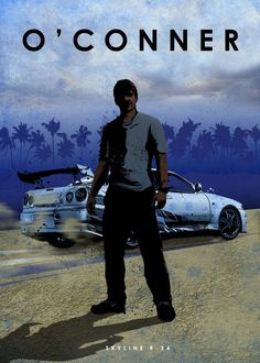 O'Conner (Fast & Furious) Car Legends by Eddie Rock