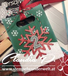 Stempelwunderwelt: Goodie Bag from Lawn Fawn for a seasonal Gift Bag