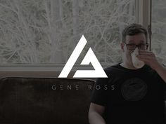 Personal Logo/Mark Working on a new mark for myself - I've always wanted a trendy triangular mark so I am finally making it a reality! Press ( L ) if you like equilateral . Logo Personnel, Logo Branding, G Logo Design, Identity Design, Brand Identity, Inspiration Logo Design, Triangle Logo, Typographic Logo, Personal Logo