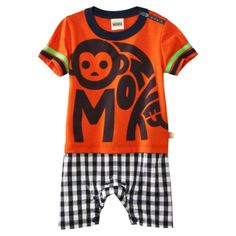 Gwen Stefani's Harajuku Mini for Target Infant Boys Monkey Romper. I love this line so much. Bought this over the weekend.