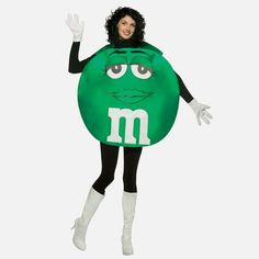 Green M&M Couples Costume: Shopko