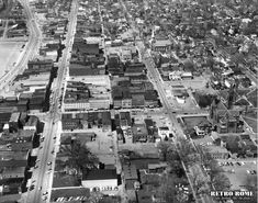 RETRO ROME – Dominick & Liberty Streets run parallel to each other through the middle of this April 1967 aerial photo. Street Run, Rome, Liberty, New York Skyline, City Photo, Outdoors, Retro, Travel, Political Freedom