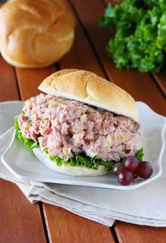 Ham Leftovers? ~ Make Ham Salad...make THIS ham salad!!