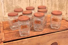 $30 each. Vintage Automotive Jars