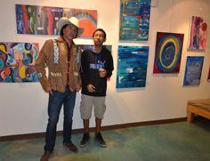 Natascha's art opening at the Wildheart Gallery, Southwestern College. 2-28-2014. www.swc.edu