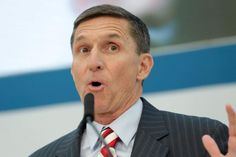 1/13/2017 Former Defense Intelligence Agency Director retired Army Lt. Gen. Michael Flynn, incoming White House national security adviser, speaks at the U.S. Institute of Peace ''2017 Passing the Baton'' conference in Washington, U.S., January 10, 2017. REUTERS/Yuri Gripas