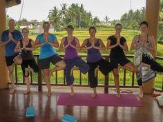 Ubud Yoga House review - group photo