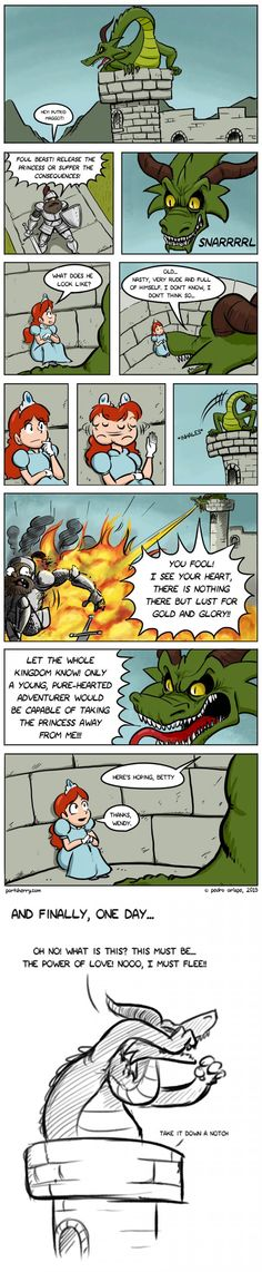 So that's why there's a dragon